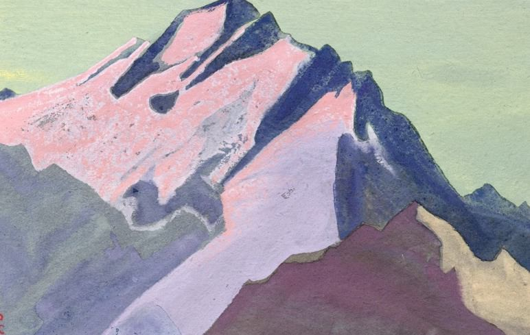 The Himalayas (Etude) (18). Roerich N.K. (Part 1)