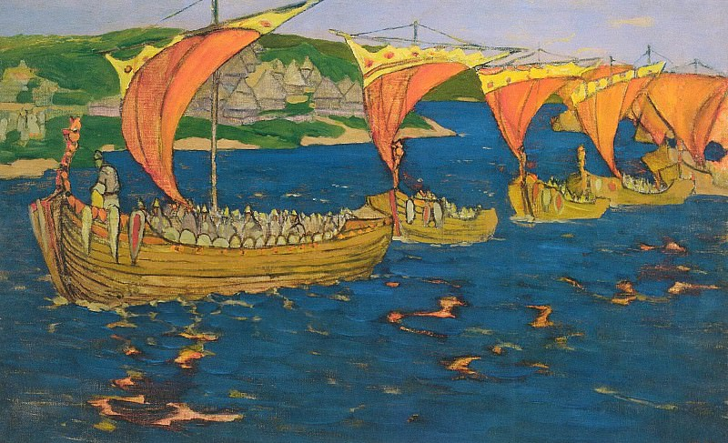 Foreign guests. Roerich N.K. (Part 1)
