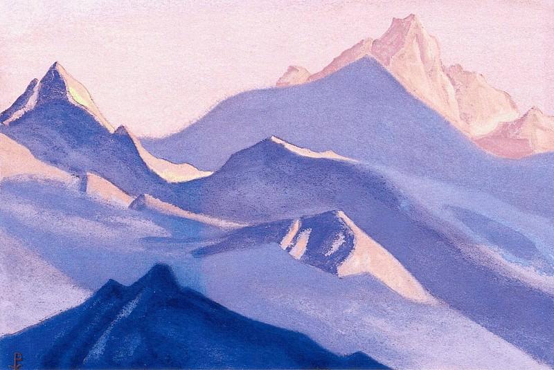The Himalayas (Himalayan etude). Roerich N.K. (Part 1)