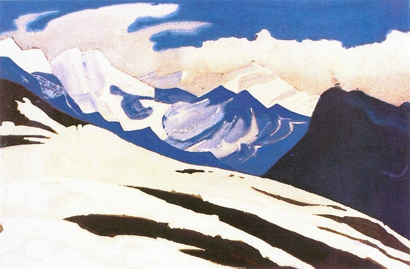 The Himalayas (Etude) (07). Roerich N.K. (Part 1)