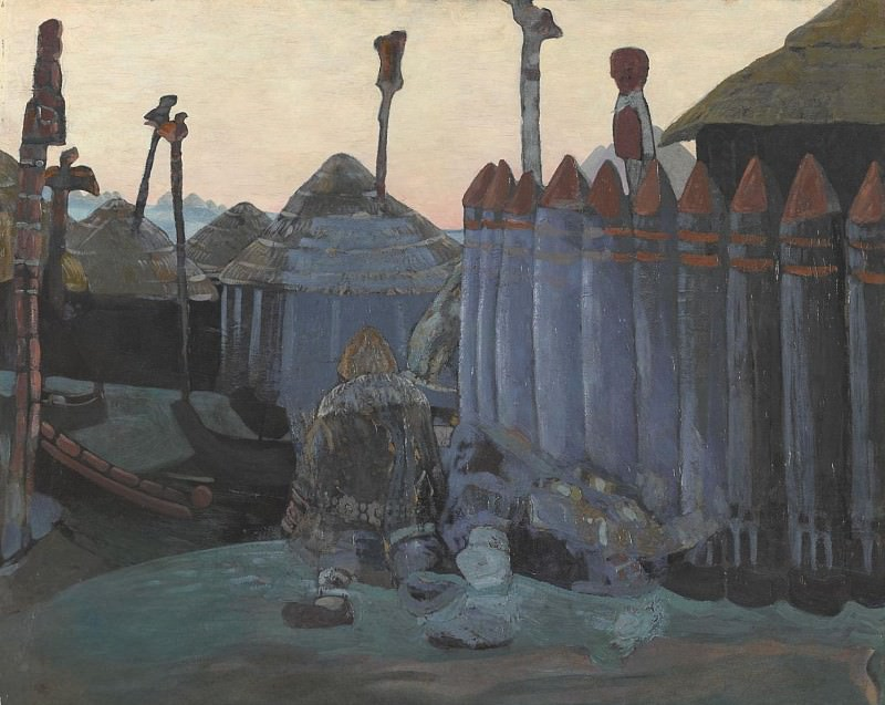 Pagan temple. Roerich N.K. (Part 1)