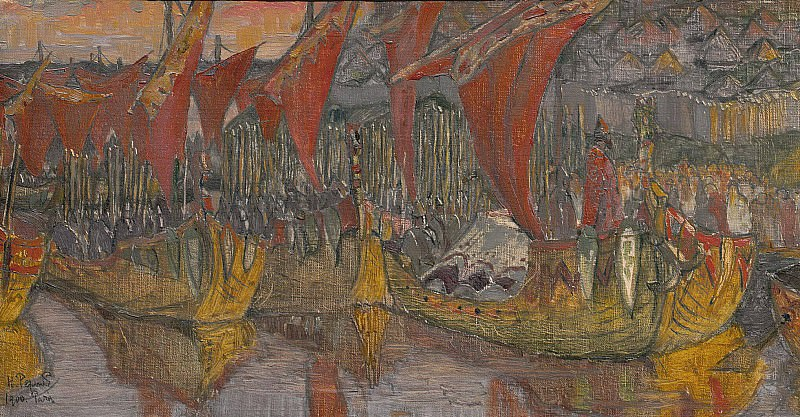 Red sails. Hike Vladimir Korsun. Roerich N.K. (Part 1)