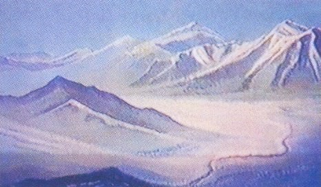 The Himalayas (91). Roerich N.K. (Part 1)