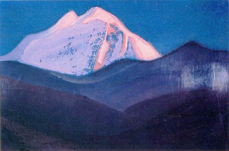 The Himalayas (Etude) (26). Roerich N.K. (Part 1)