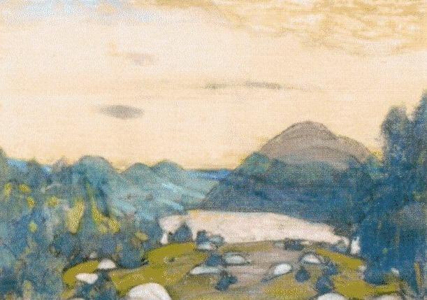 Yarilin valley. Roerich N.K. (Part 1)