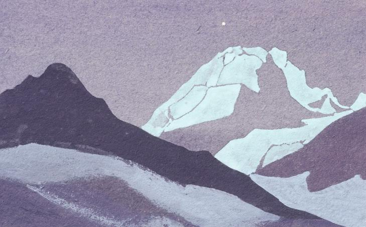The Himalayas (Etude) (31). Roerich N.K. (Part 1)