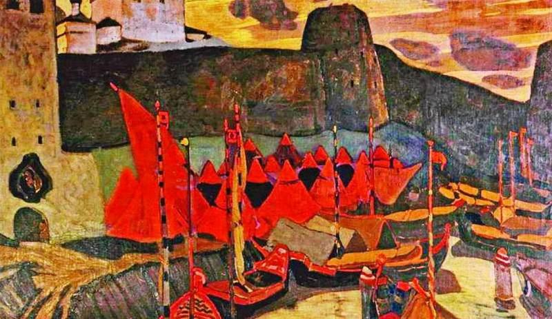 Old Pskov. Roerich N.K. (Part 1)