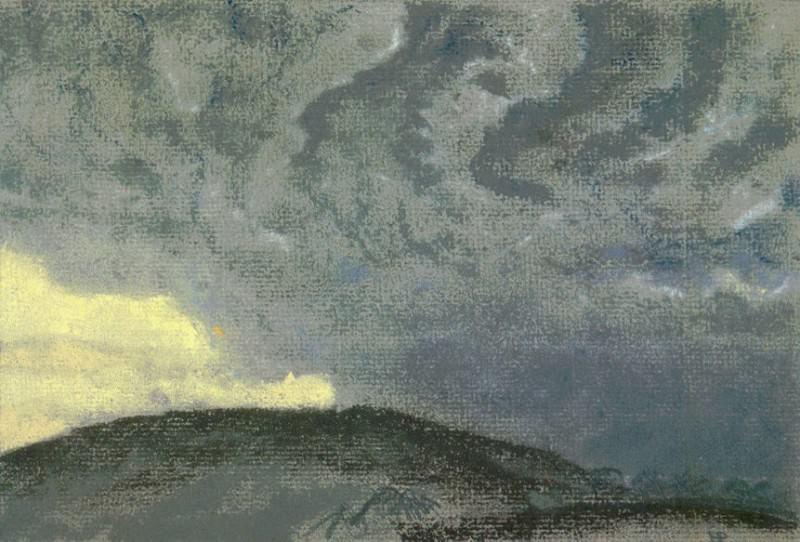 Холмистый пейзаж. Рерих Н.К. (Часть 1)