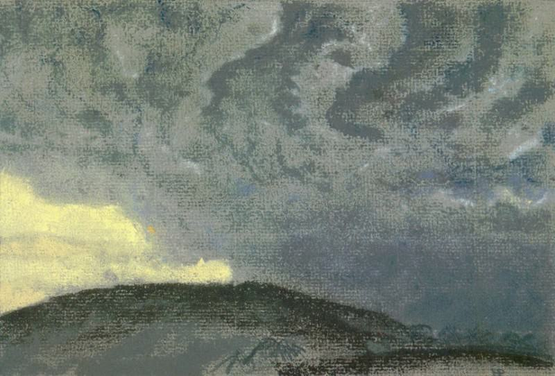 Hilly landscape. Roerich N.K. (Part 1)