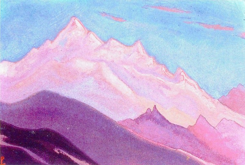 The Himalayas (Etude) (29). Roerich N.K. (Part 1)