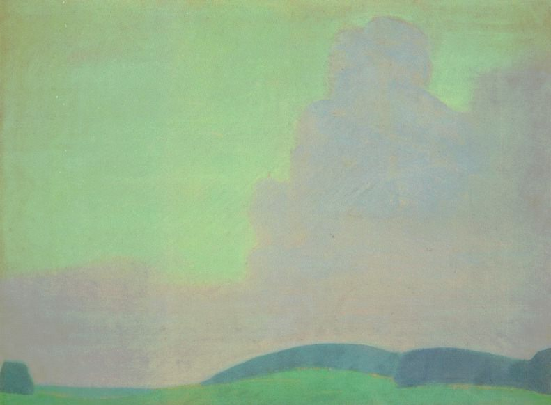 Cloud (sketch). Roerich N.K. (Part 1)