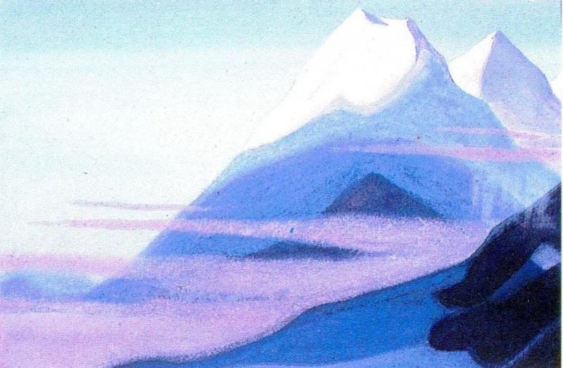 The Himalayas (Etude) (17). Roerich N.K. (Part 1)