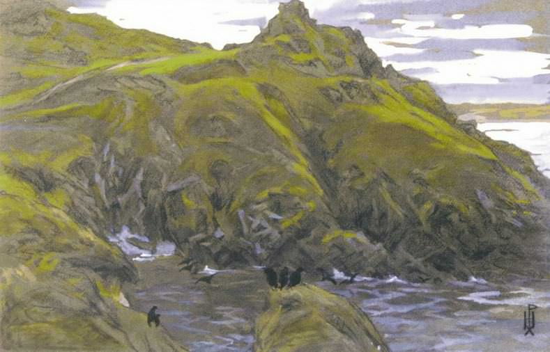 Green Fjord. Roerich N.K. (Part 1)