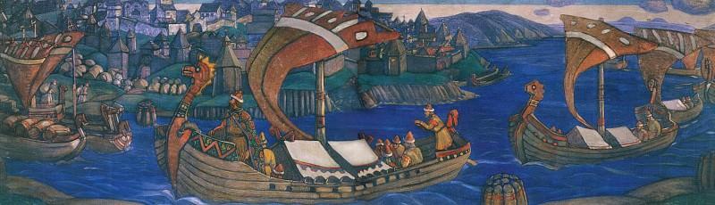 Sadko (decorative panels). Roerich N.K. (Part 1)