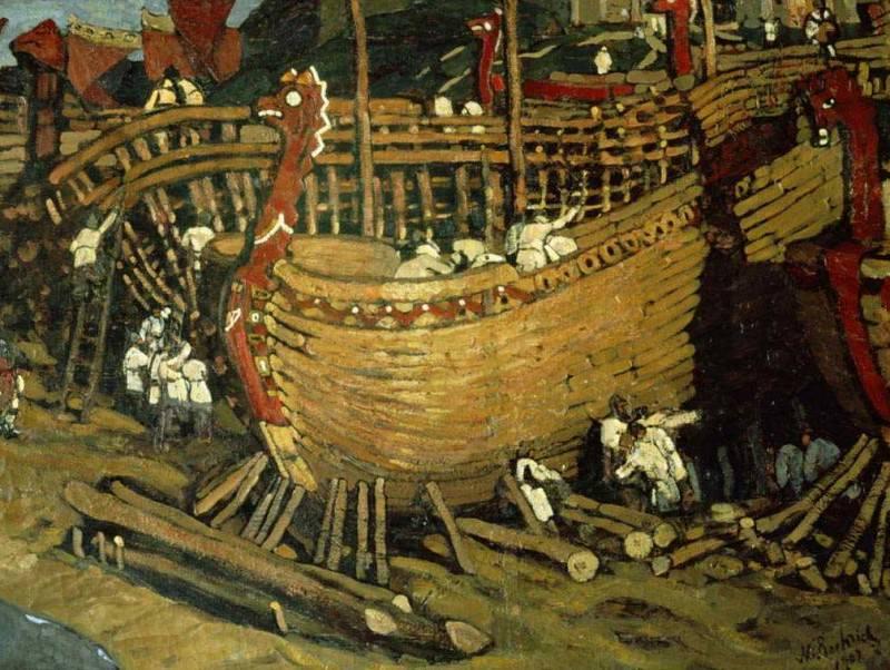 Build a boat. Roerich N.K. (Part 1)