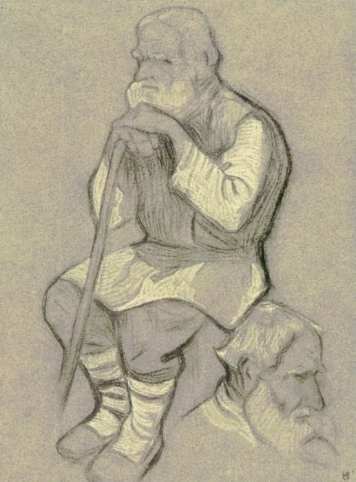 Gathering elders (study old to the composition). Roerich N.K. (Part 1)
