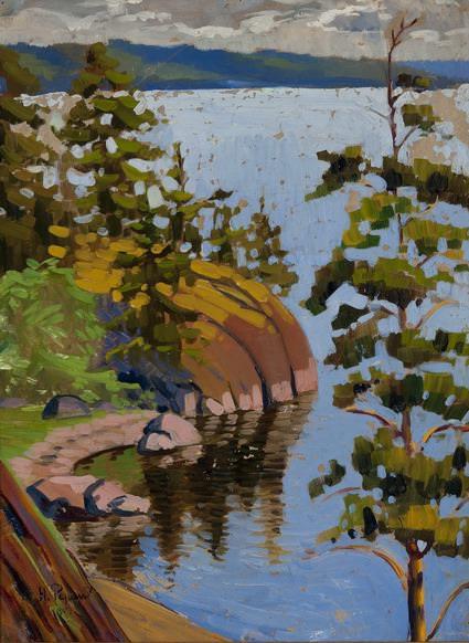 Karelian pine (NKRoerich?). Roerich N.K. (Part 1)