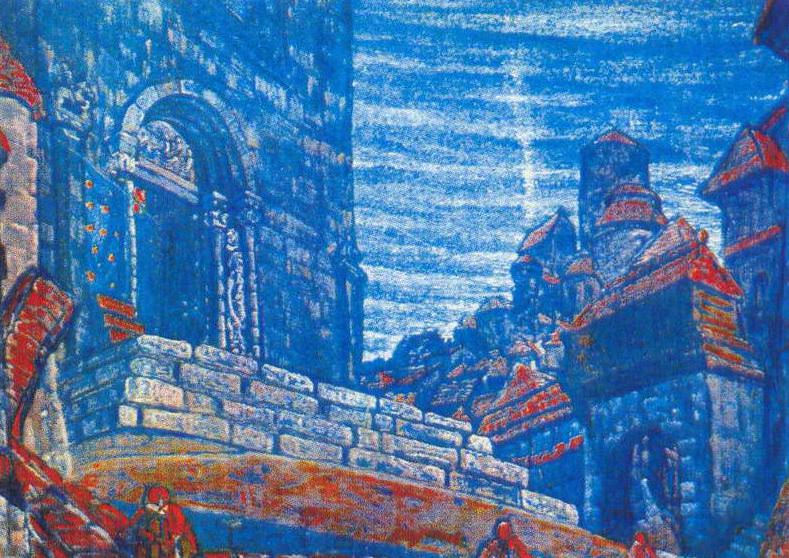 City (Town Square). Roerich N.K. (Part 1)