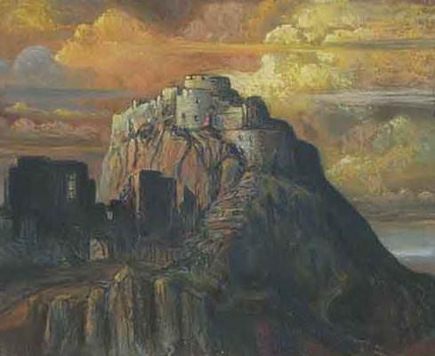 Castle. Ruins. Roerich N.K. (Part 1)