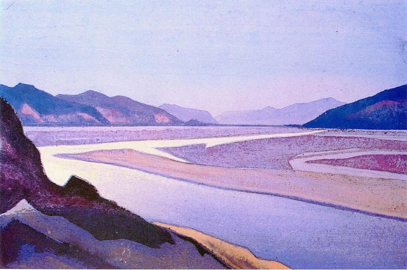 The Himalayas (Etude) (23). Roerich N.K. (Part 1)