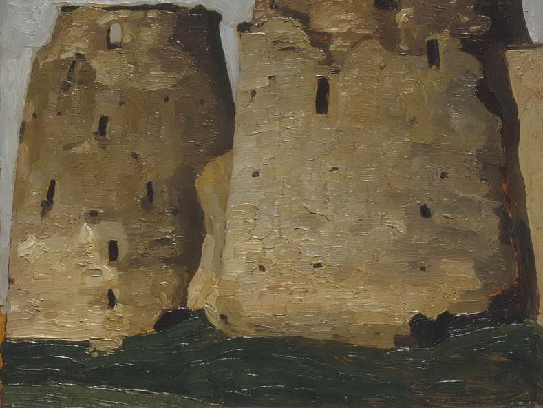 Izborsk. Towers. Roerich N.K. (Part 1)