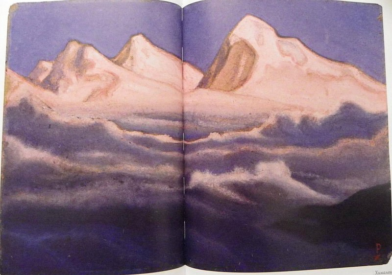 The Himalayas. Roerich N.K. (Part 1)