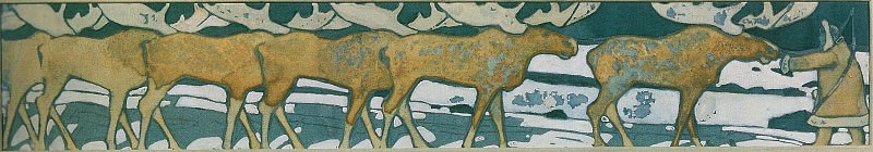 Stone Age. North. Deer. Roerich N.K. (Part 1)