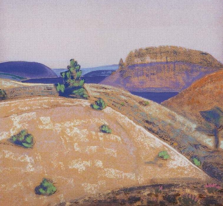 Landscape. Roerich N.K. (Part 1)