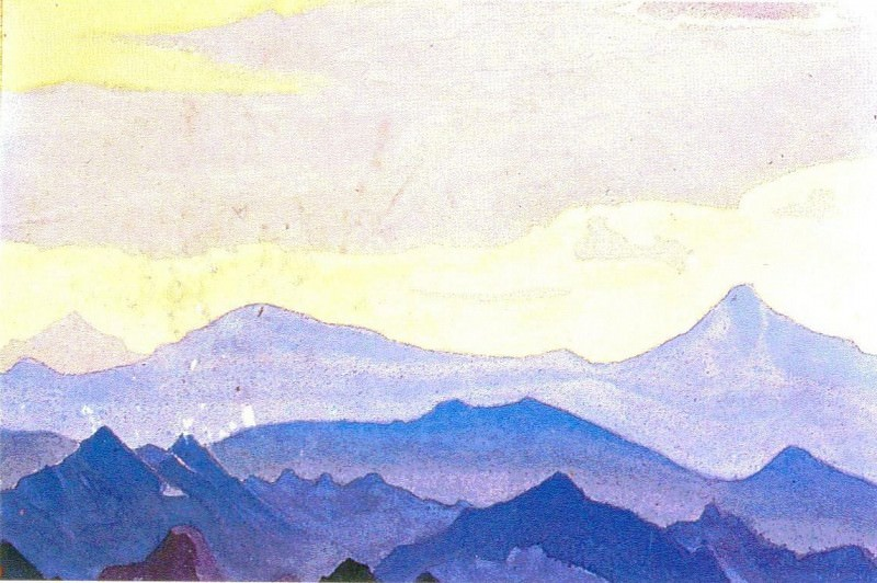 The Himalayas (Etude) (30). Roerich N.K. (Part 1)