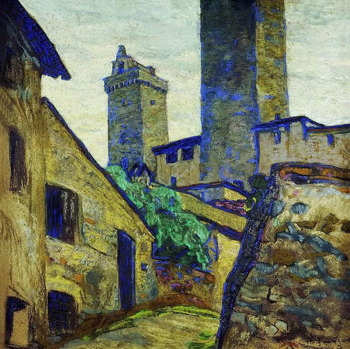 Of San Gimignano (San Geminiano). Roerich N.K. (Part 1)