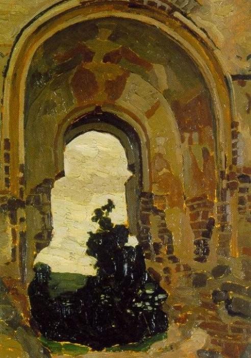 Troki. Etude lock Troki. Roerich N.K. (Part 1)