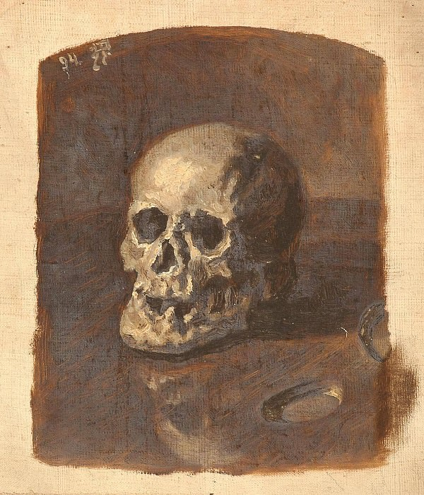 Study of the skull. Roerich N.K. (Part 1)