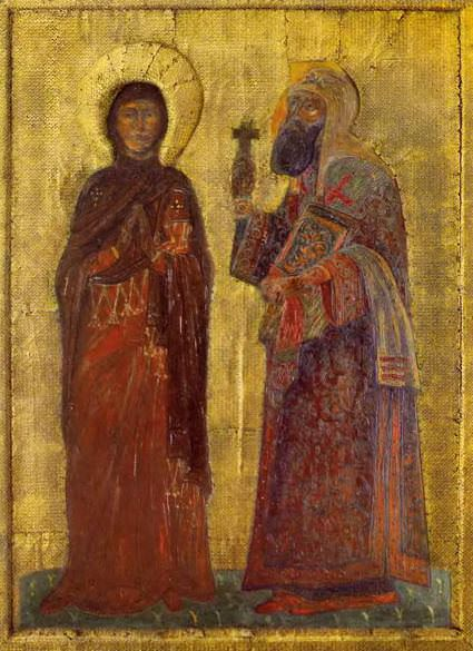 Perm iconostasis. Upcoming (Selected Saints). Roerich N.K. (Part 1)