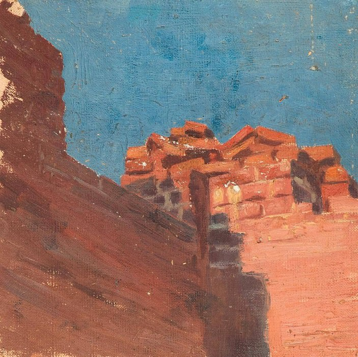 Study walls. Roerich N.K. (Part 1)