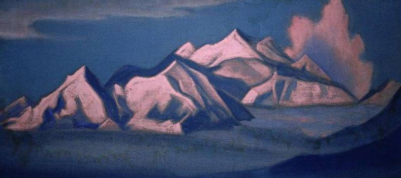 Himalayas (Pink Mountains). Roerich N.K. (Part 1)