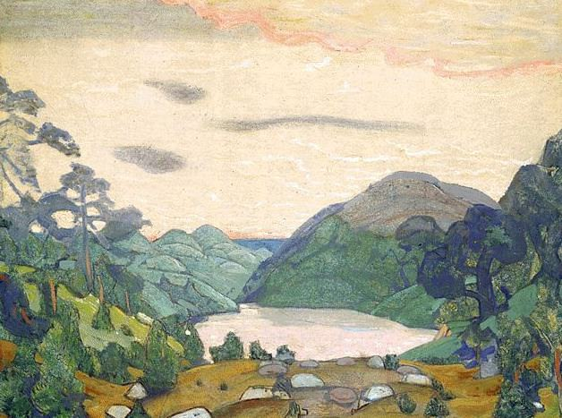 Yarilin valley. Roerich N.K. (Part 1)