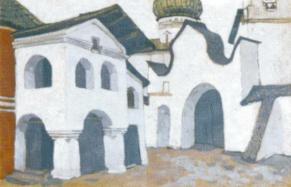 Pskov graveyard. Roerich N.K. (Part 1)