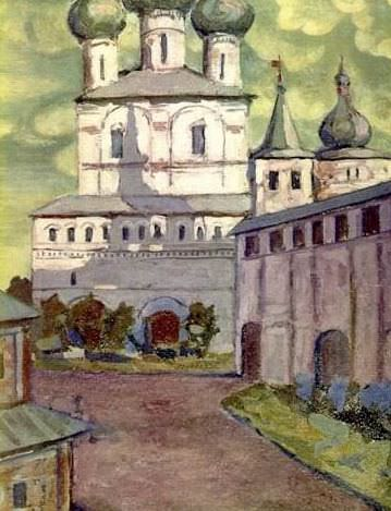 Rostov. Most Gate Church. Roerich N.K. (Part 1)