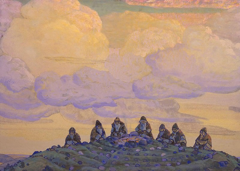 Great sacrifice (third embodiment). Roerich N.K. (Part 1)