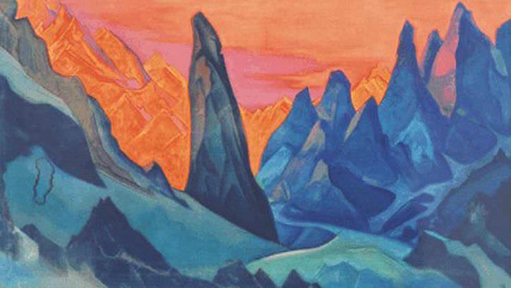 Charmed kingdom. Roerich N.K. (Part 1)