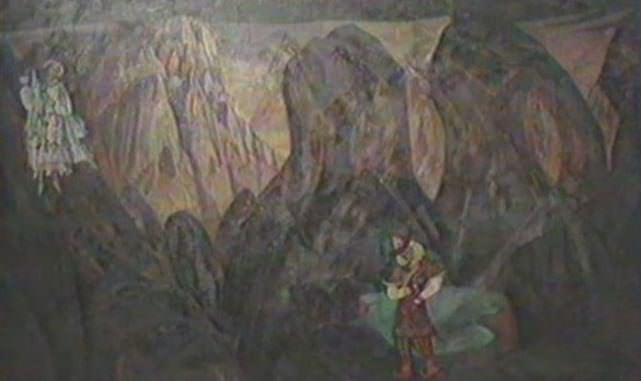 Meeting (NK Roerich?). Roerich N.K. (Part 1)