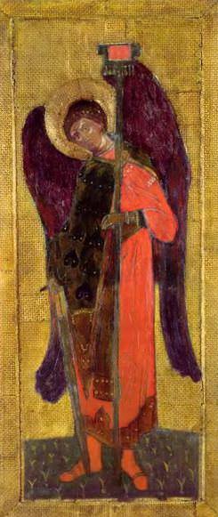 Perm iconostasis. Archangel Michael. Roerich N.K. (Part 1)