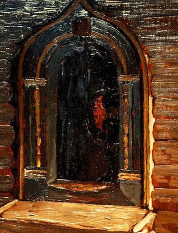 Rostov. The door to the church on Ishna. Roerich N.K. (Part 1)