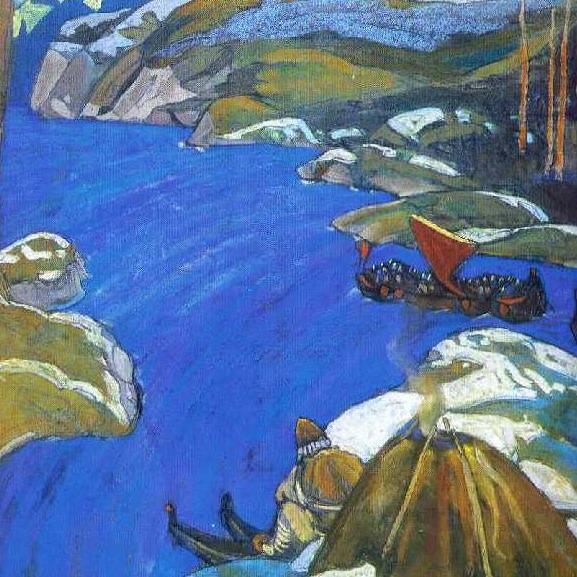 Varangian path. Roerich N.K. (Part 1)