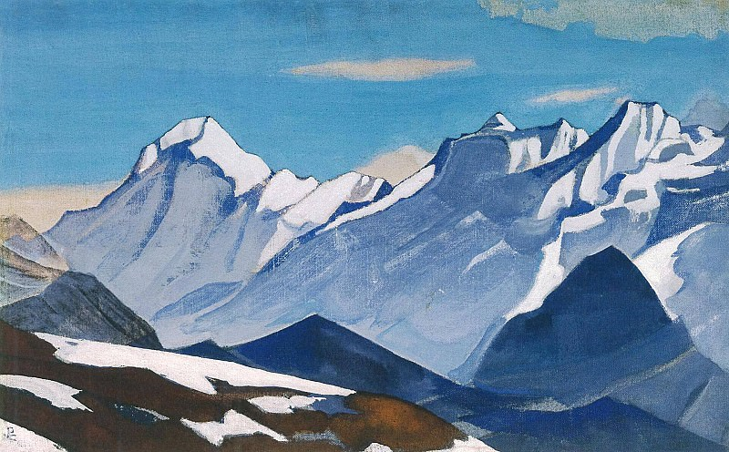 The Himalayas (Etude) (24). Roerich N.K. (Part 1)