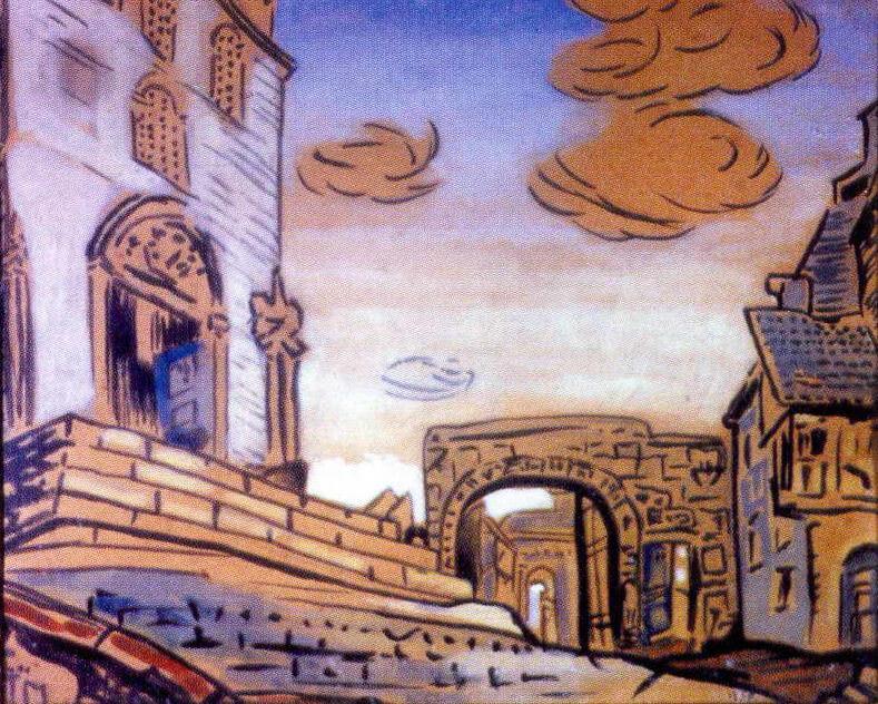 City (optional). Roerich N.K. (Part 1)