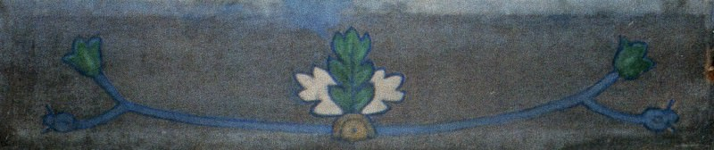 Plant motifs (panel). Roerich N.K. (Part 1)