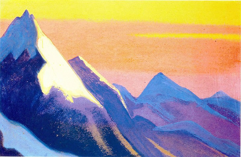 The Himalayas (Etude) (11). Roerich N.K. (Part 1)
