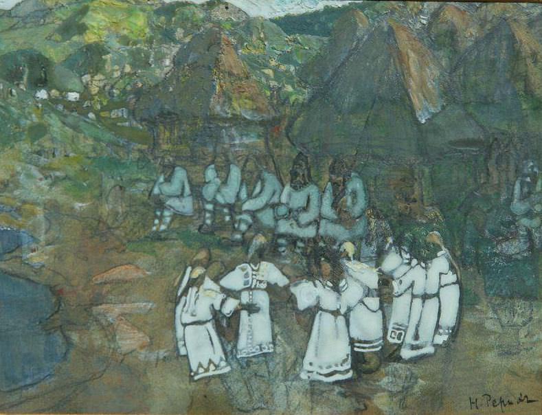The dance (horo). Roerich N.K. (Part 1)
