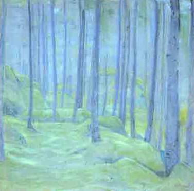 Туман (Туман в лесу). Рерих Н.К. (Часть 1)